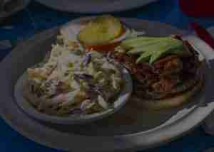 Burgers And Coleslaw at Genoa Station Bar & Grill