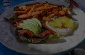 Burgers And Sweet Potato Fries at Genoa Station Bar & Grill